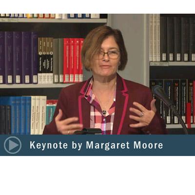Keynote by Margaret Moore